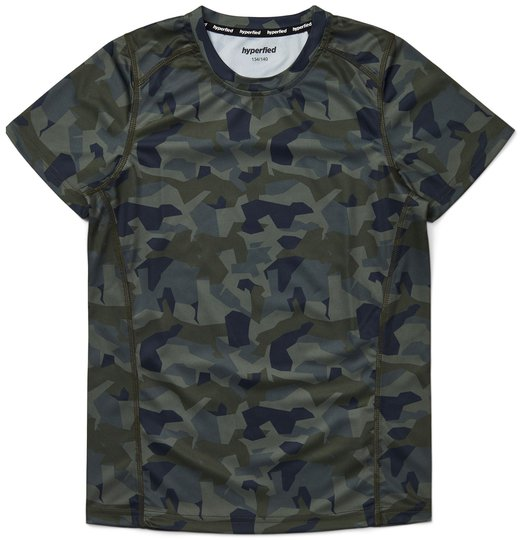 Hyperfied Logo T-Shirt, Camo 86-92