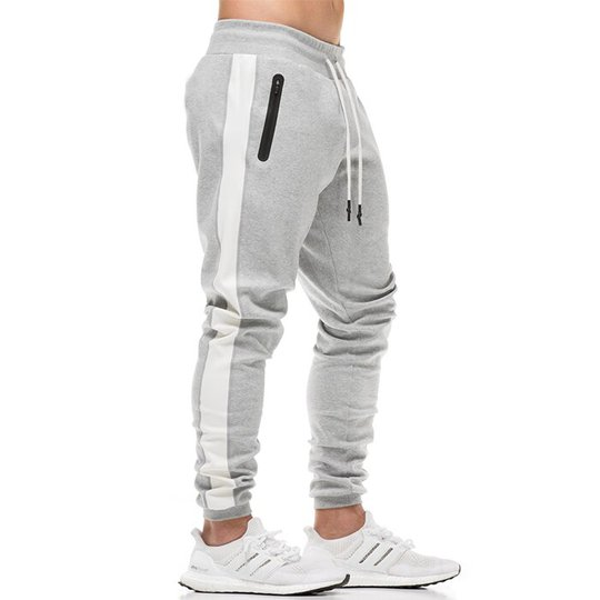 Star Gym Joggers, Grey/White