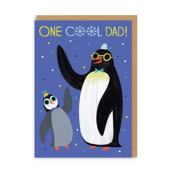 One Cool Dad Greeting Card