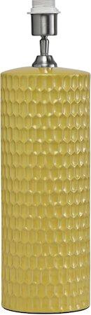 Honeycomb Lampefot Gul 52cm