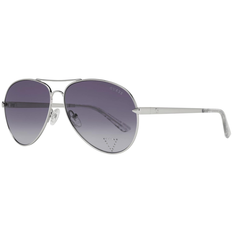 Guess Unisex Sunglasses Silver GU7616-S 5810B