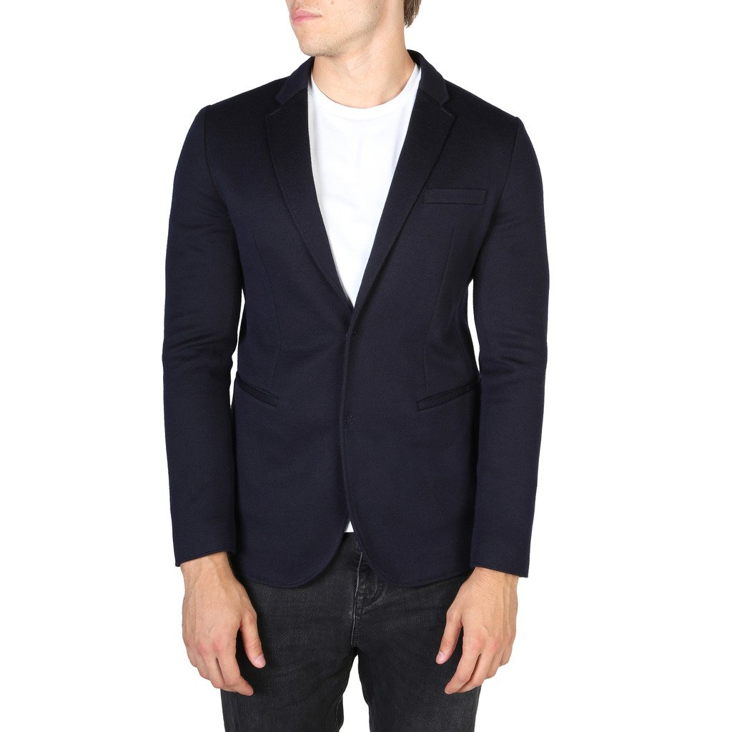 Emporio Armani Men's Blazer Blue V1G620V1407 - blue 58 EU