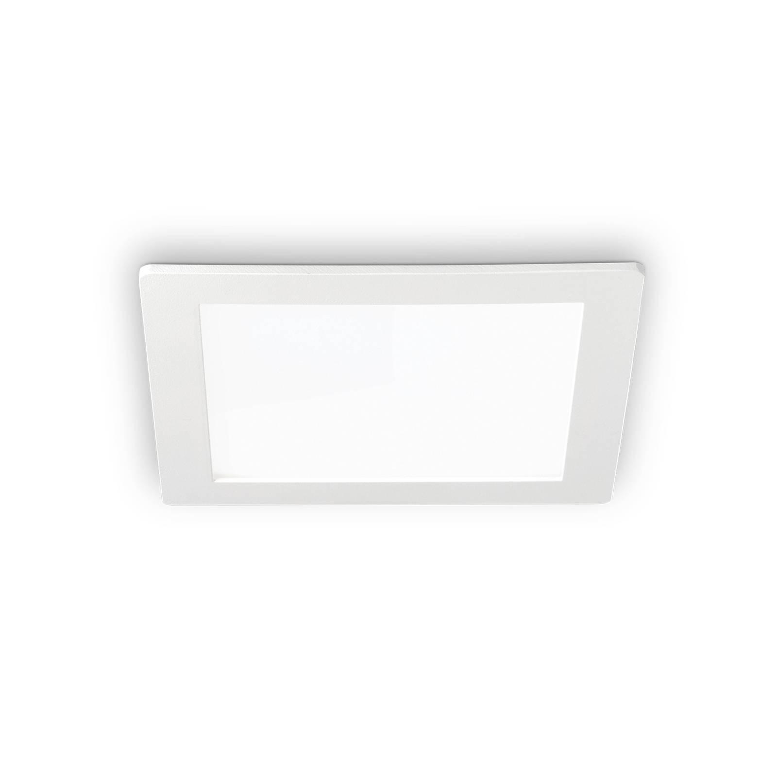 LED-kattouppovalaisin Groove square 11,8 x 11,8 cm