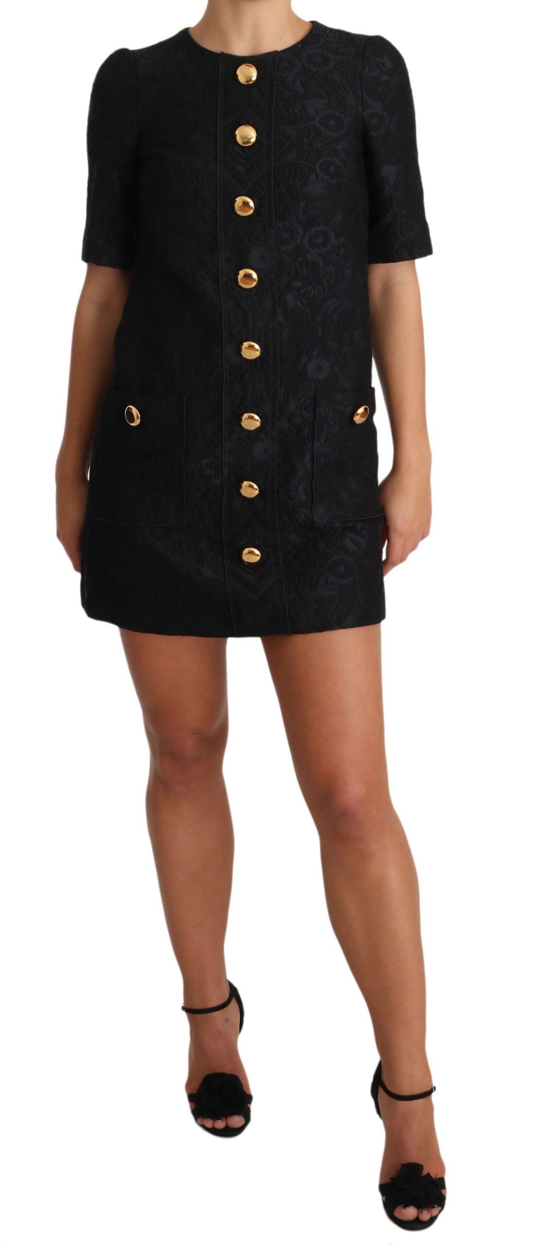 Dolce & Gabbana Women's Dress Black DR1931 - IT36 | XS