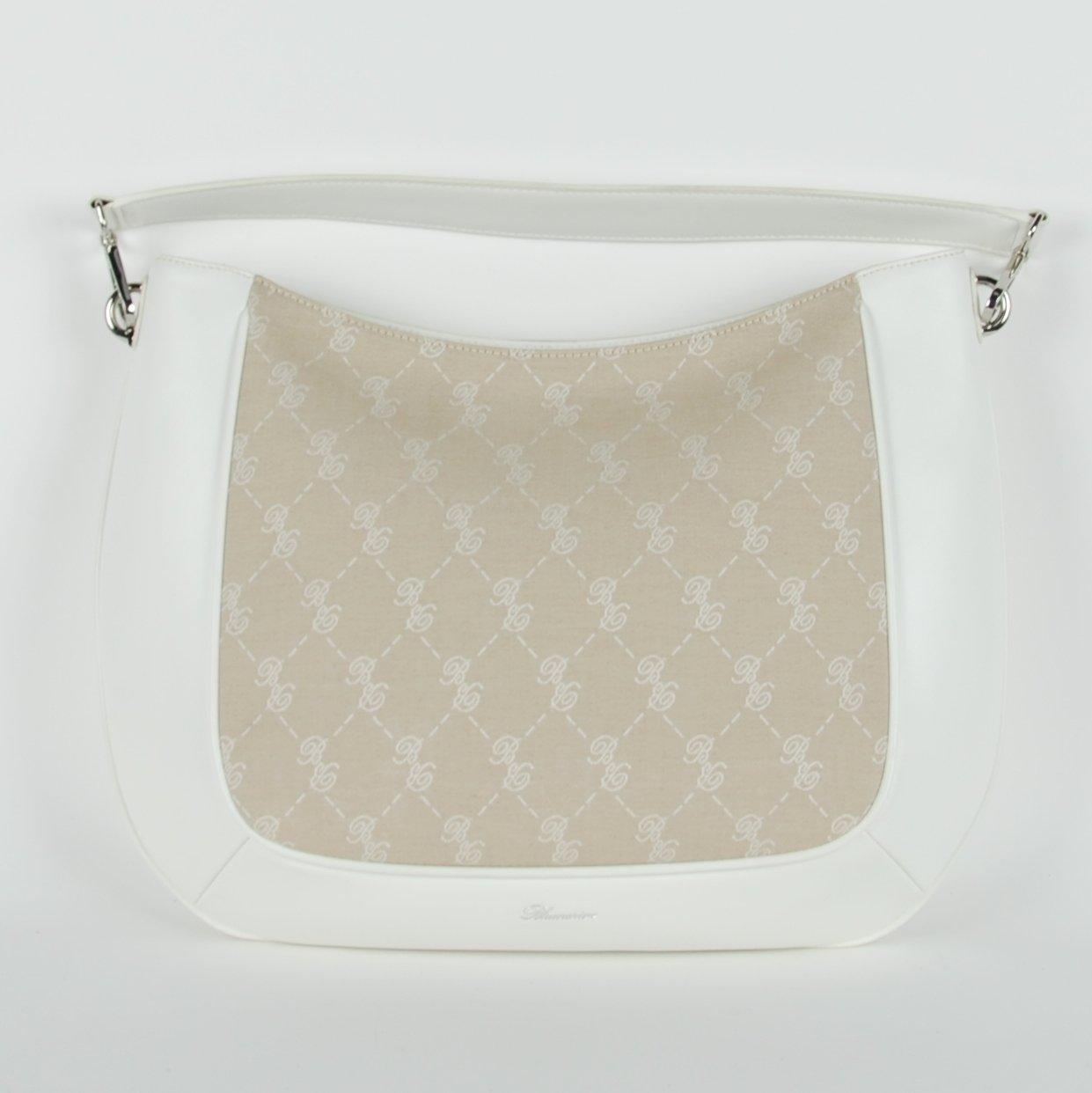 Blumarine Women's Hobo Bag White BL1421496