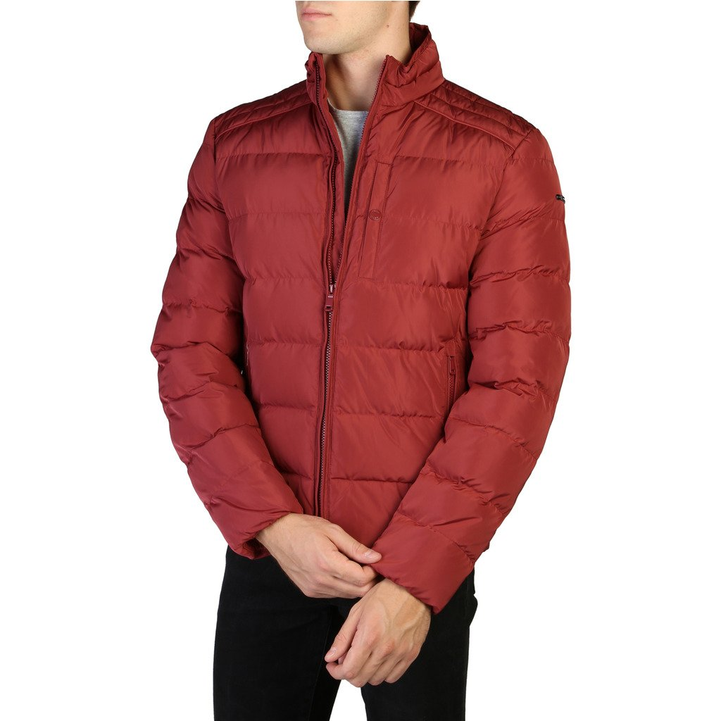 Geox Men's Jacket Red M9428DT2506 - red 46
