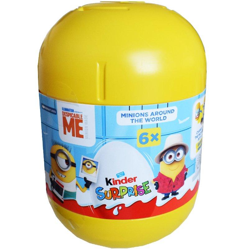 Kinder Minions 6-pack - 63% rabatt