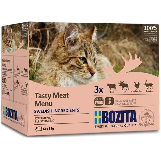 Bozita Cat Kött i Gelé Multipack