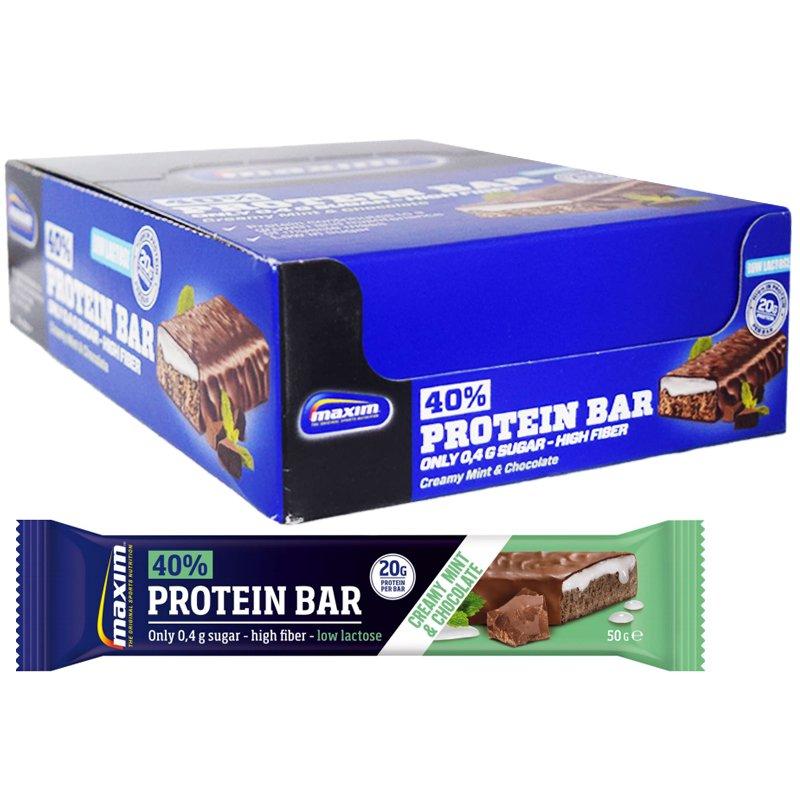 Proteiinipatukoita Mint & Chocolate 18kpl - 31% alennus