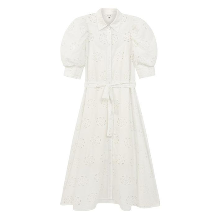 Desigual Women's Dress White 204944 - white S