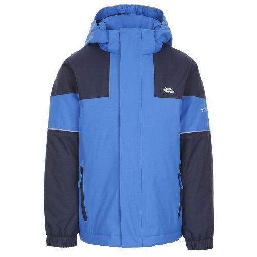 Trespass Men's Waterproof Padded Jacket Various Colours Unlock_Jkt - Blue 5-6 Years