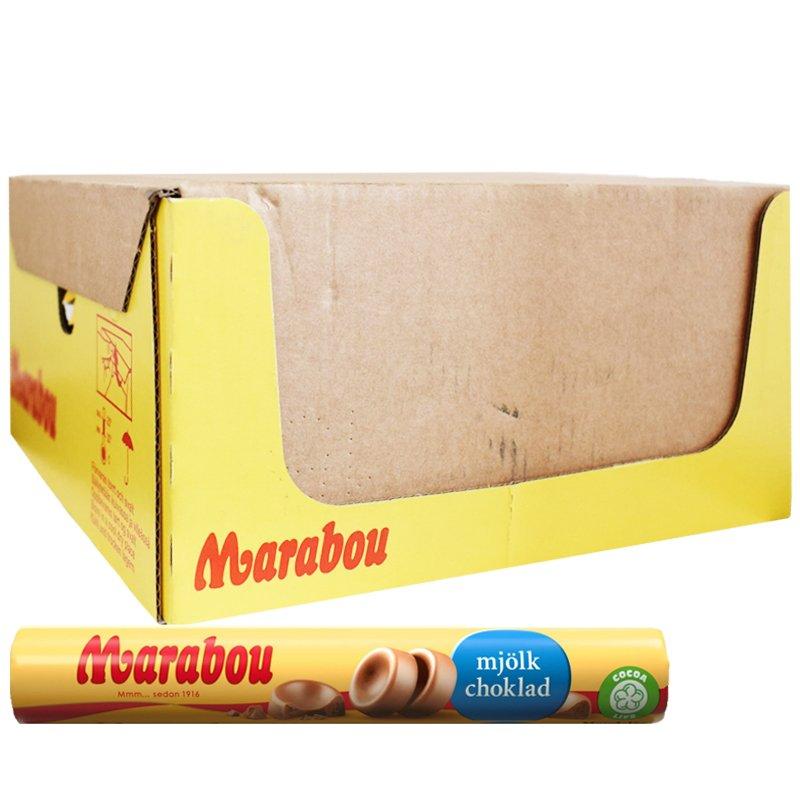 Hel Låda Mjölkchoklad Rulle 28 x 74g - 55% rabatt