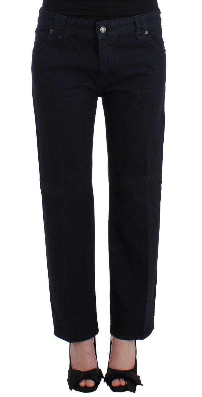 John Galliano Women's Cropped Jeans Blue SIG11723 - W32