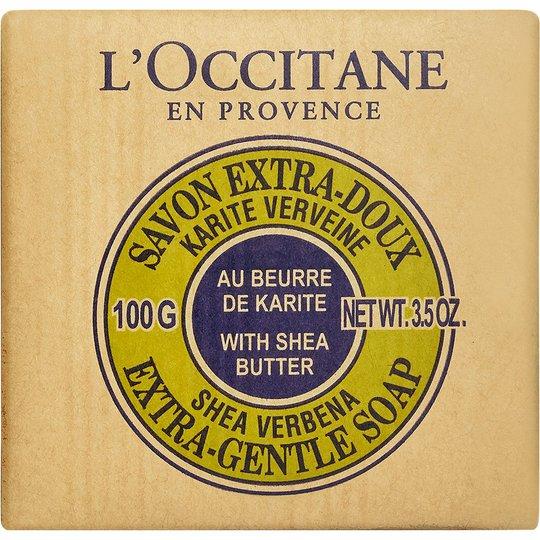 Shea Verbena Extra Gentle Soap, 100 g L'Occitane Käsisaippua