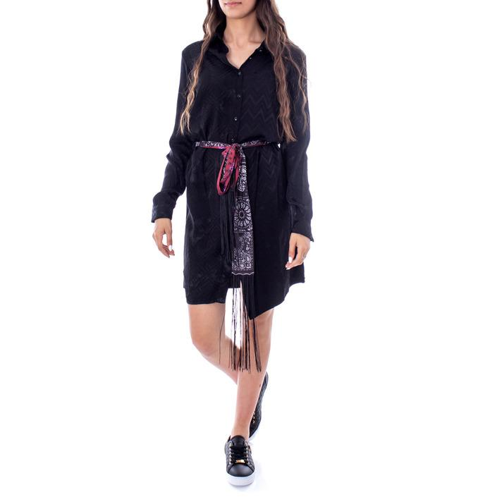 Desigual Women's Dress Black 167717 - black 38