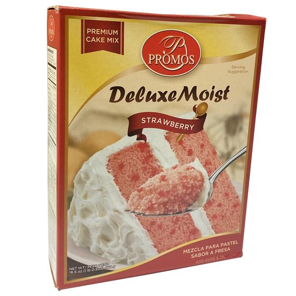 Promos Deluxe Moist Strawberry