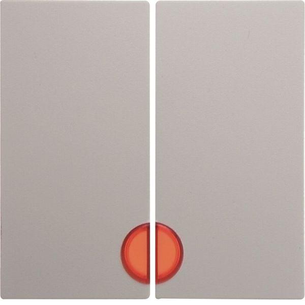 Hager 16271909 Vipu kaksiosainen, punainen linssi valkoinen