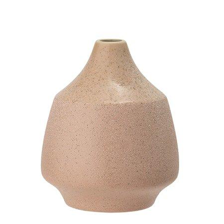 Vase, Rose, Stoneware