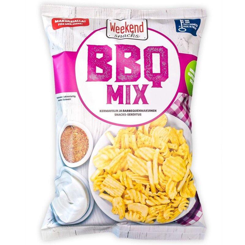 Snacks-sekoitus BBQ - 22% alennus