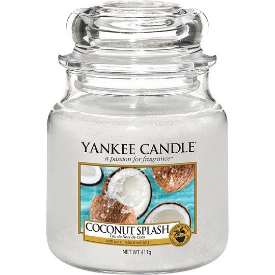 Coconut Splash, 411 g Yankee Candle Tuoksukynttilät