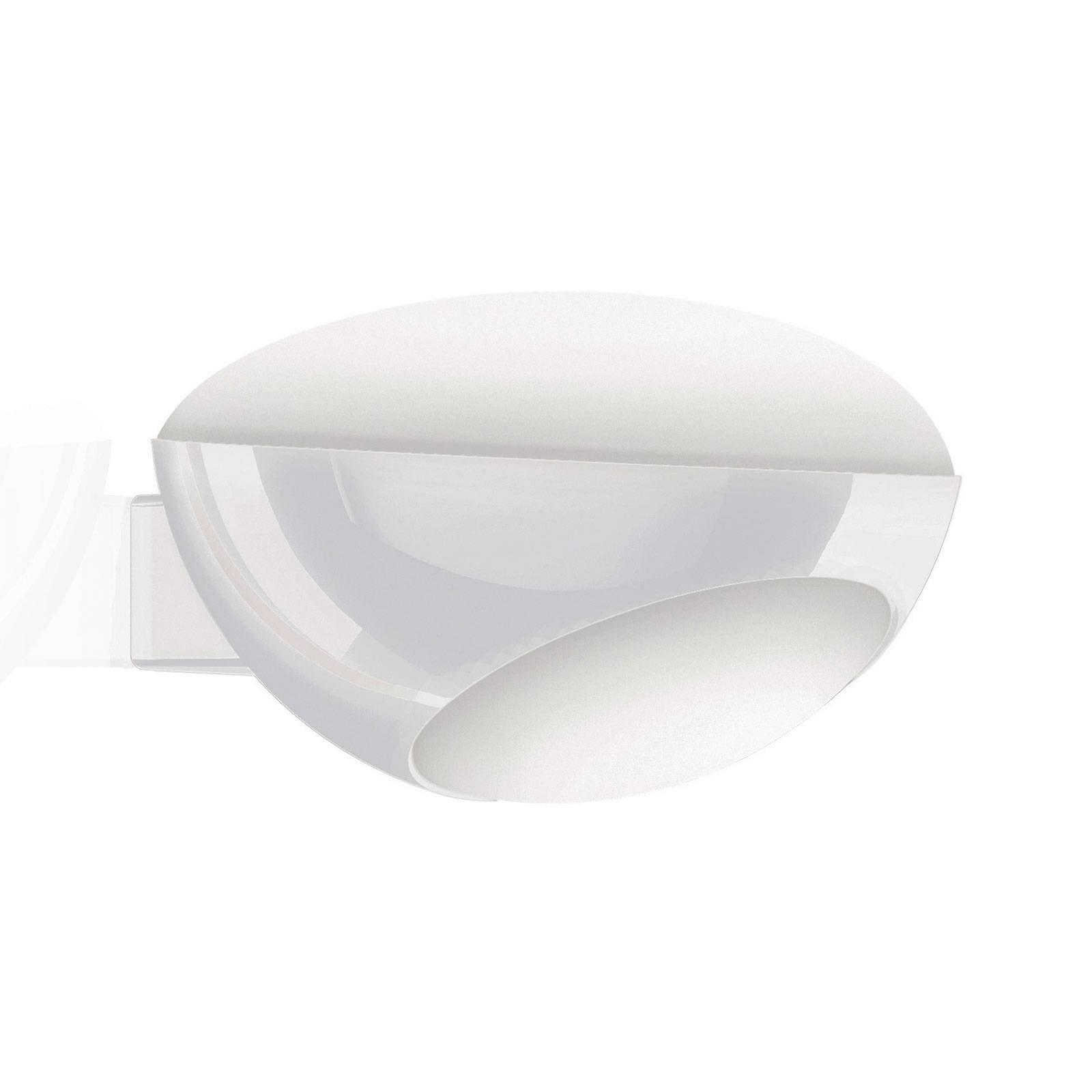 Kundalini Tua LED-vegglampe, hvit