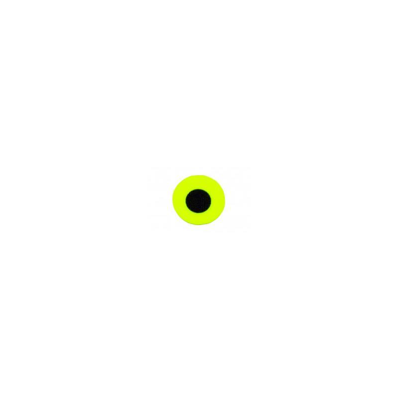 Flat Eyes Fluo Yellow 3,0 mm