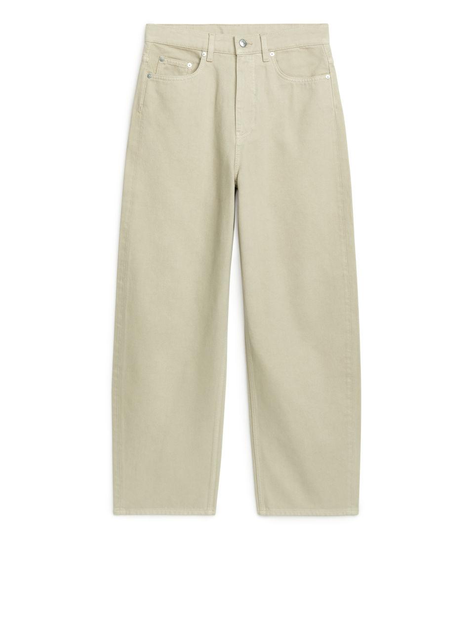 BARREL LEG Jeans - Green