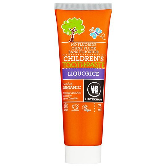 Urtekram Nordic Beauty Children's Liquorice Toothpaste, 75 ml