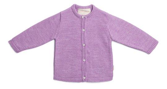 Petite Chérie Atelier Margit Cardigan, Light Purple/Dusty Purple 68