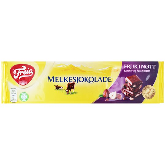 Mjölkchoklad Frukt & nöt 200g - 69% rabatt