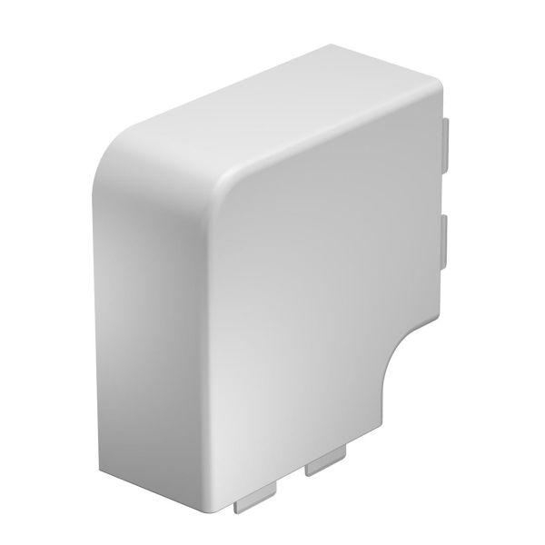 Obo Bettermann 6175674 L-kulma halogeeniton, valkoinen 110 x 60 mm