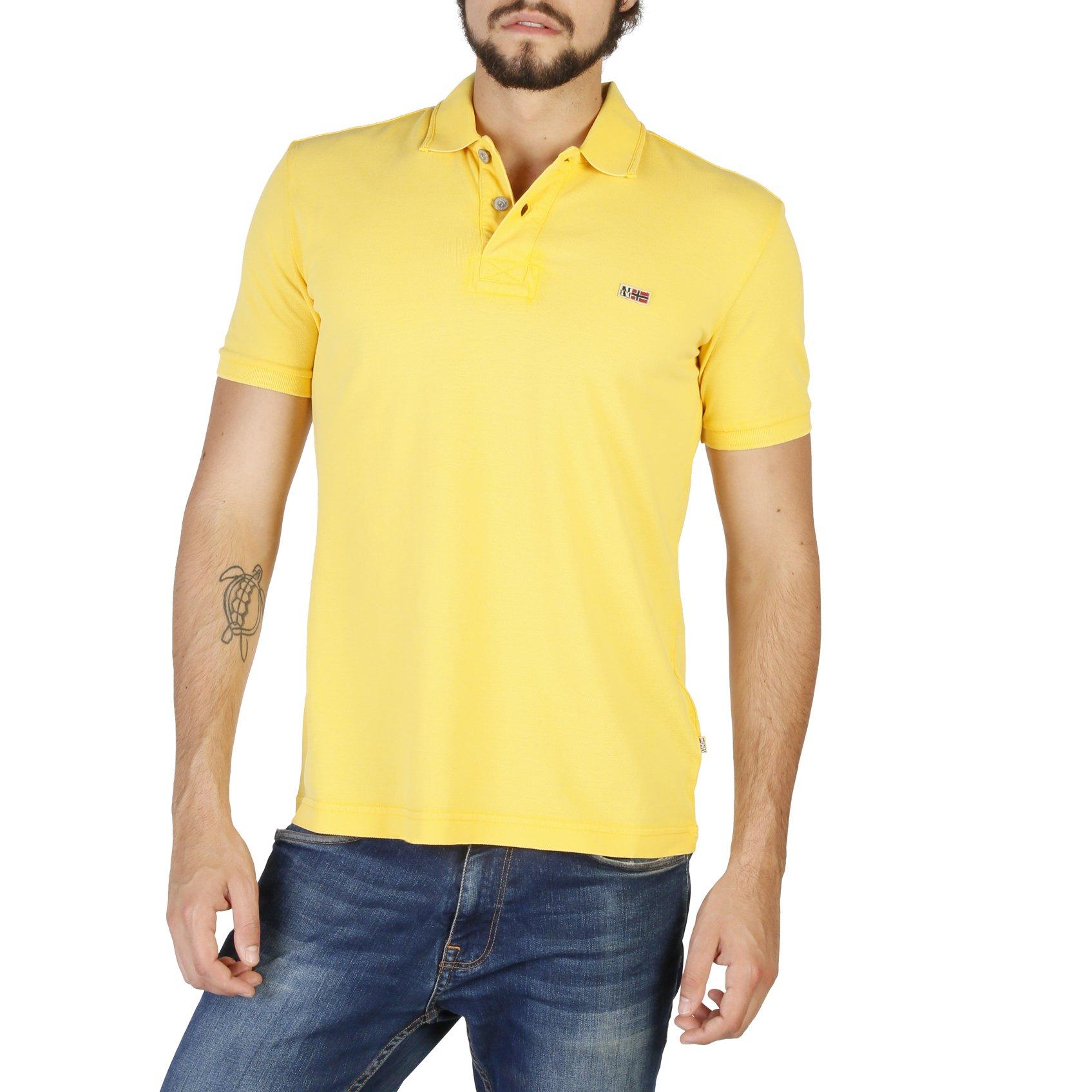 Napapijri Men's Polo Shirt Various Colours N0YHDX - yellow S