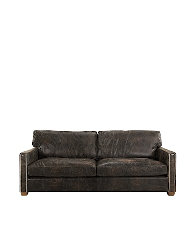Viscount soffa 2-sits Läder fudge