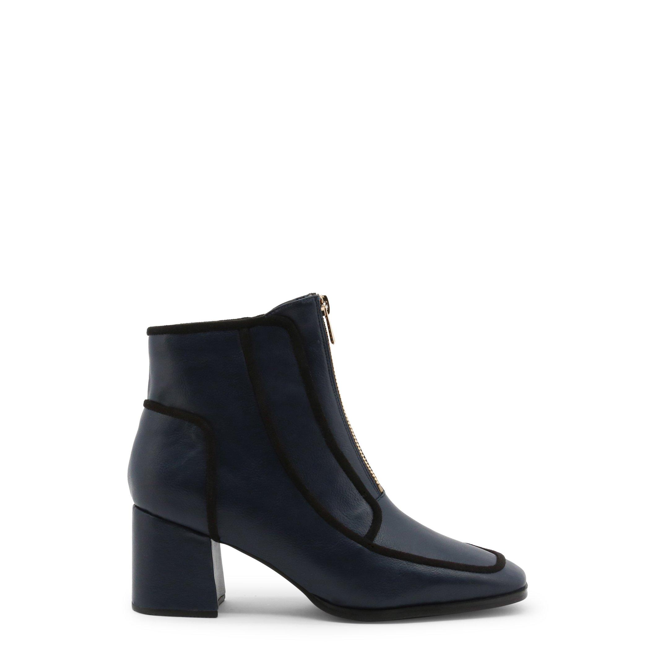 Roccobarocco Women's Ankle Boots Black 342953 - blue EU 37
