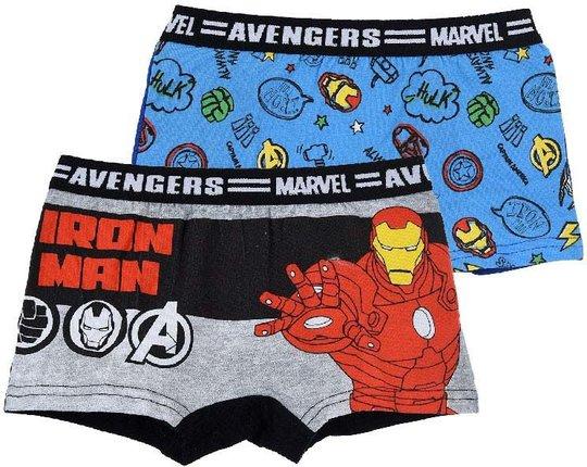 Marvel Avengers Boksershorts 2-pack, 2-3 År