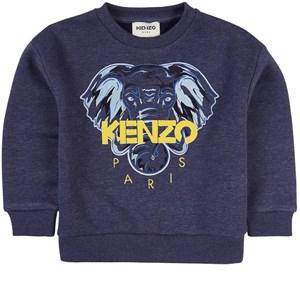 Kenzo Elephant Sweatshirt Marinblå 4 år