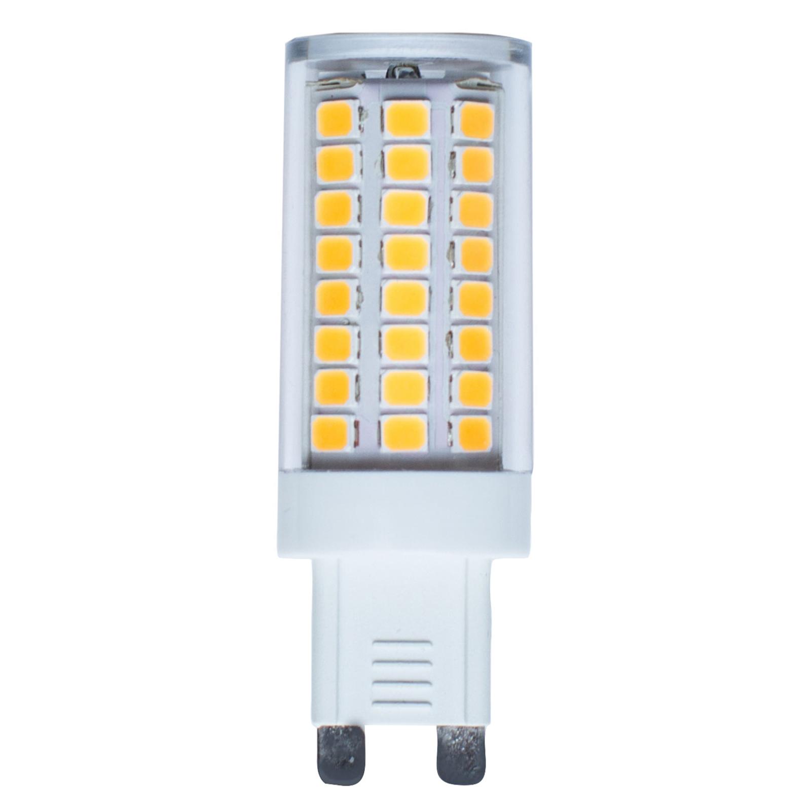 Kaksikantainen LED-lamppu G9 4,8 W 2 800 K 600 lm