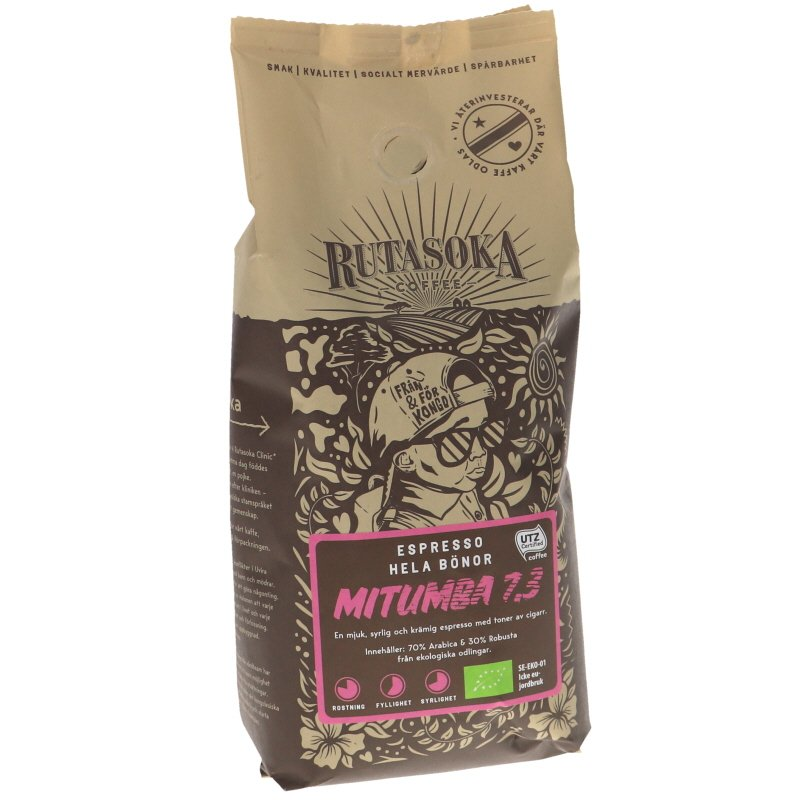 Luomu Espresso Kahvipavut - 18% alennus