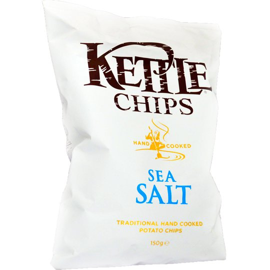 Chips Havssalt 150g - 25% rabatt