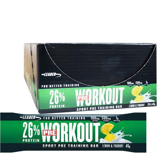 "Hel Låda Proteinbars ""Lemon & Yoghurt"" 24 x 45g - 66% rabatt"