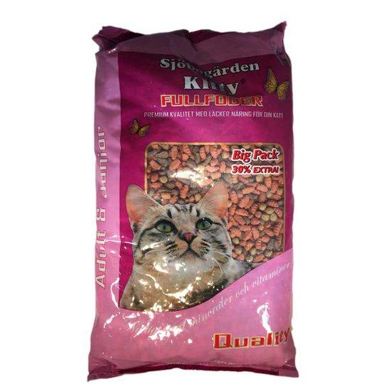 Kitty Fullfoder för katt - 32% rabatt