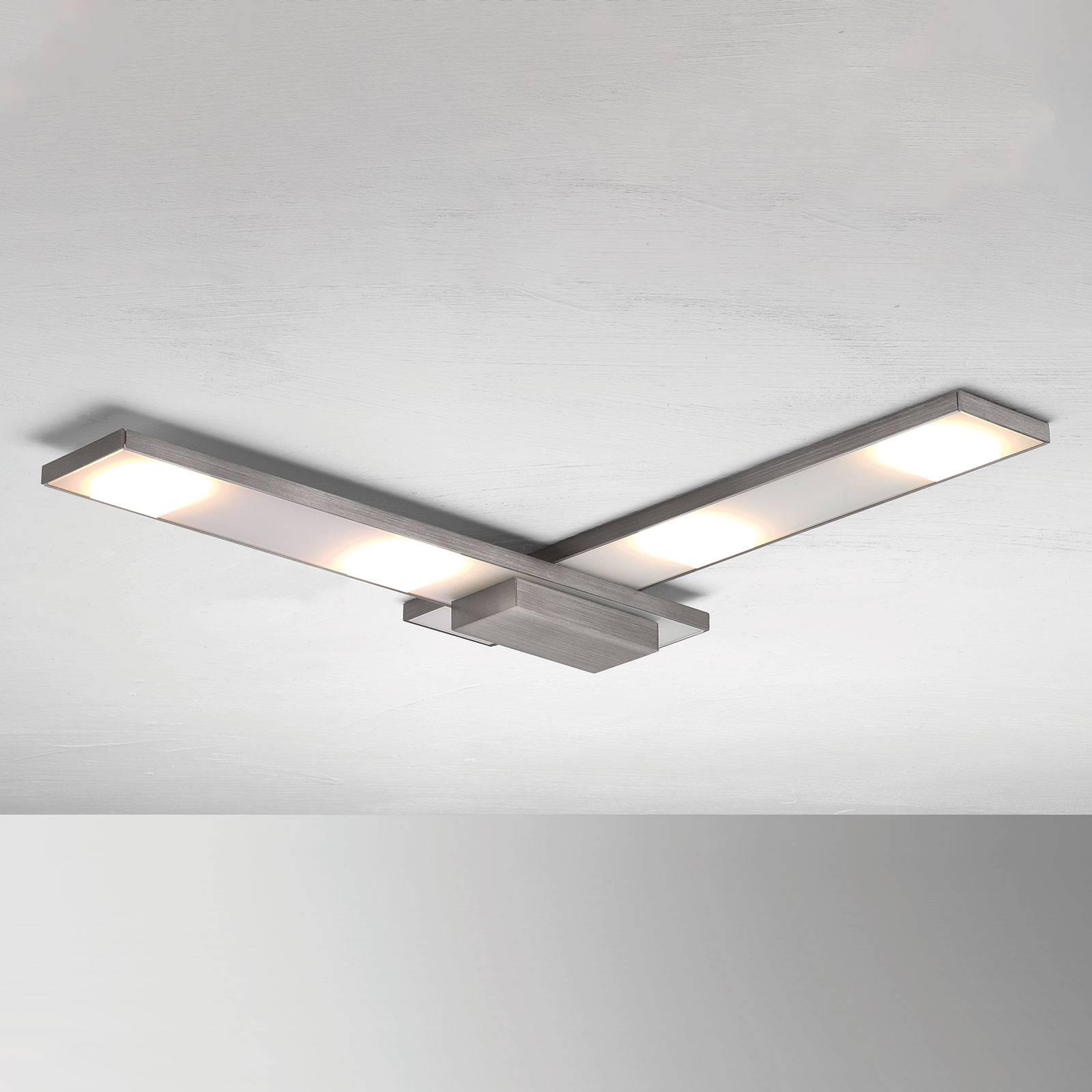 Hienostunut LED-kattovalaisin Slight, antrasiitti