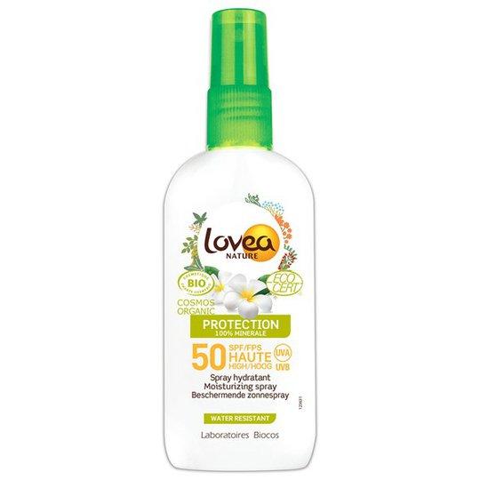 Lovea Moisturizing Sunscreen Spray SPF 50, 100 ml