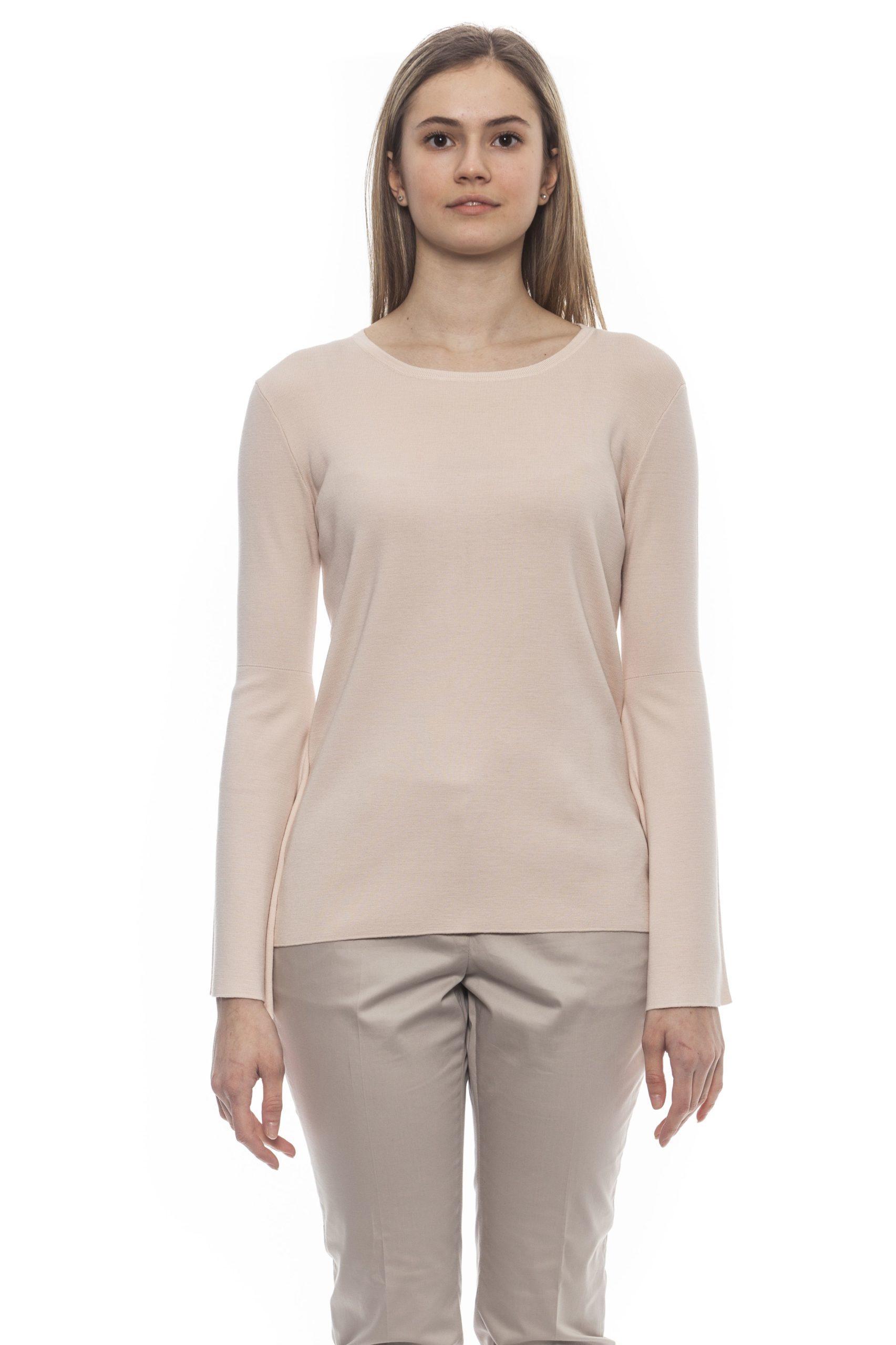 Peserico Women's Rosa Sweater Pink PE1383069 - IT42 | S