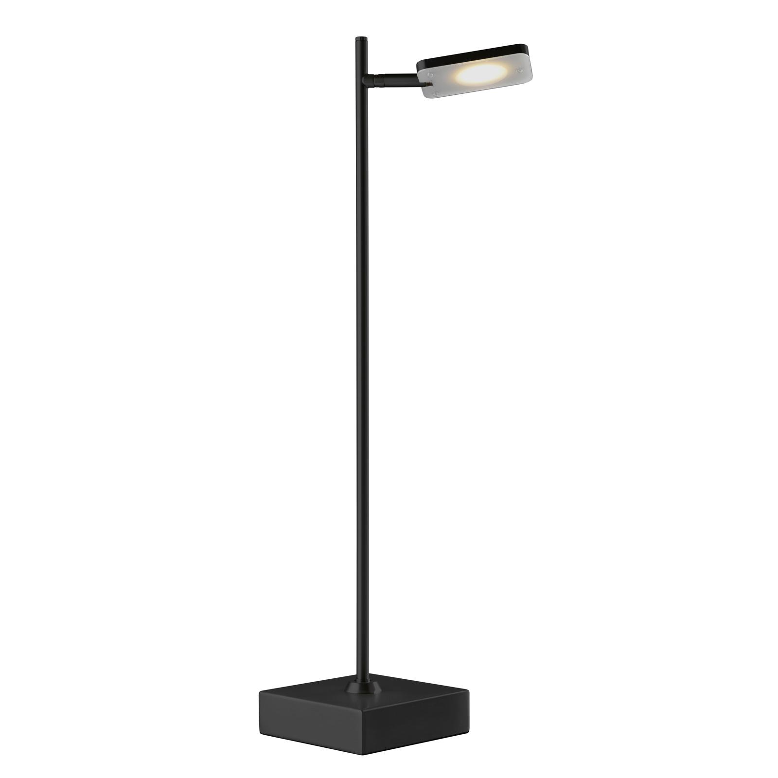 LED-pöytälamppu Quad, himmennin, 1-lamp., musta