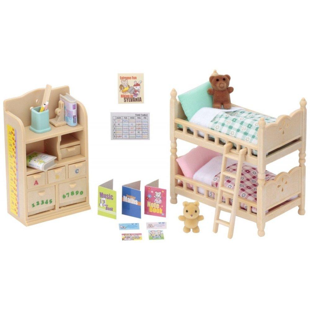 Sylvanian Families Childrens Bedroom Set (4254)