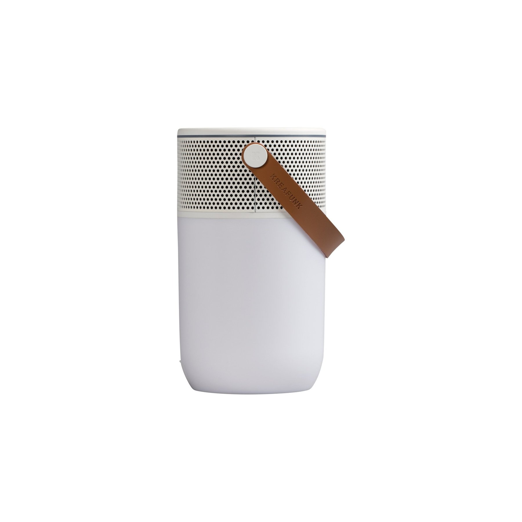 aGLOW Bluetooth högtalare/ lampa vit, Kreafunk