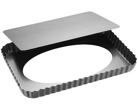 Silvertop Paiform 32x22cm Sølv