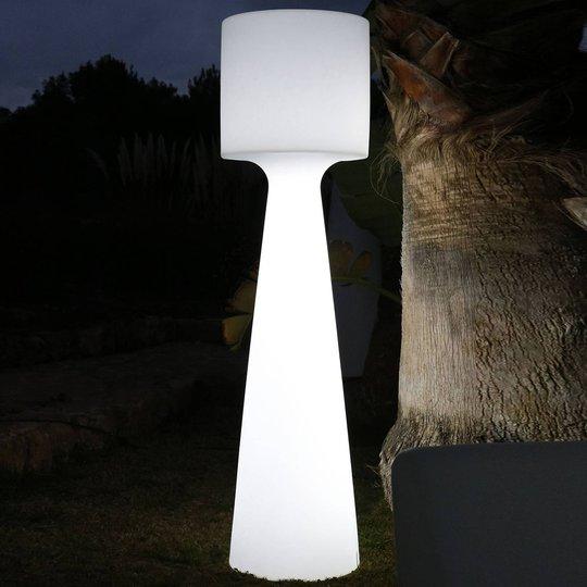 Newgarden Grace LED-gulvlampe batteri høyde 140 cm