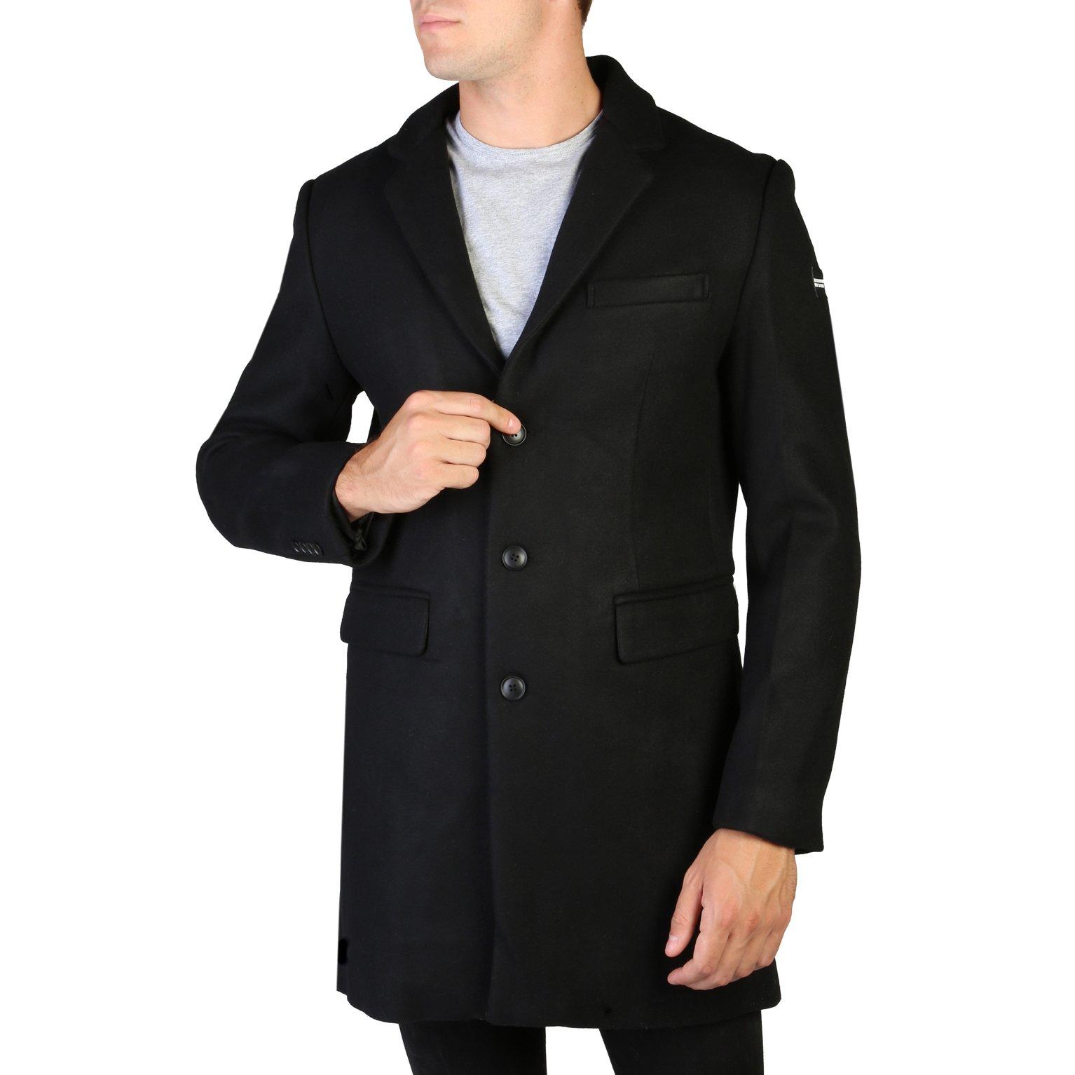 Alessandro Dell'Acqua Men's Coat Various Colours 348399 - black M